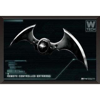 EJA Art Batman Remote Controlled Batarang Poster Poster (12x18 Inches)