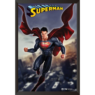 EJA Art Man Of Steel Poster (12x18 Inches)