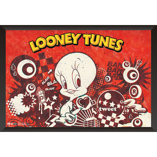 EJA Art Tweety The Looney Tunes Poster (12x18 Inches)