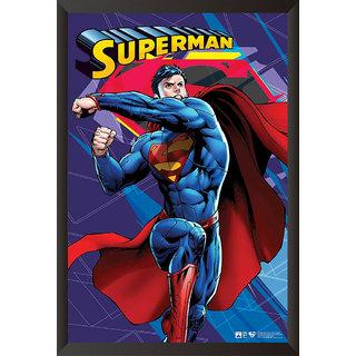 EJA Art Superman Comic Series Poster (12x18 Inches)