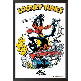 EJA Art Daffy Duck The Looney Tunes Poster (12x18 Inches)