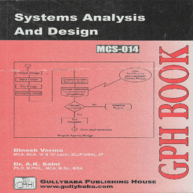 MCS014 Systems Analysis And Design (IGNOU Help book for MCS-014 in English Medium)