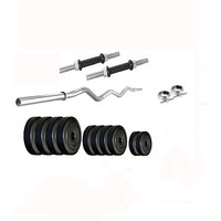 Dreamfit 20 Kg Home Gym With 3Ft Curl Rod