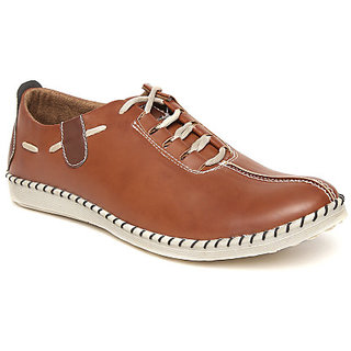 Quarks Mens Tan Synthetic Casual Shoes