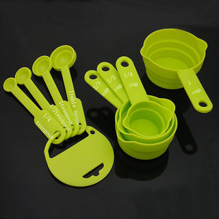 DarkPyro Unbreakable 8 Piece Measuring Cup And Spoon Set