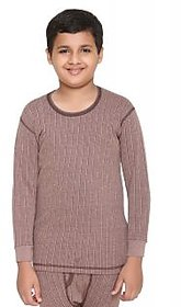 Vimal-Jonney Winter King Blended Coffee Thermal Top For Boys