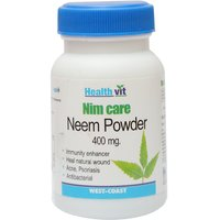 Buy 1 Get 1 Free HealthVit NEEMCARE Neem Powder 400 G 60 Capsules (Pack Of 2)