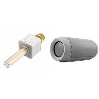 Zemini Q7 Microphone and Charge K3 Bluetooth Speaker for HTC ONE E8 DUAL SIM(Q7 Mic and Karoke with bluetooth speaker | Charge K3 Plus Bluetooth Speaker )