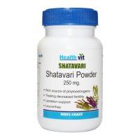 Buy 1 Get 1 Free HealthVit  Shatavari Powder 250 Mg 60 Capsules (Pack Of 2)