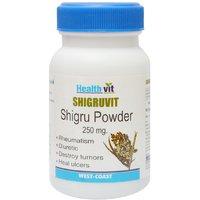 Buy 1 Get 1 Free HealthVit SHIGRUVIT Shigru Powder 250g 60 Capsules(Pack Of 2)