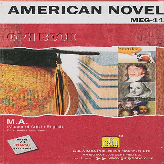 MEG11 American Novel (IGNOU Help book for MEG-11 in English Medium)
