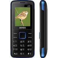 INTEX ECO 205 (Black And Blue)