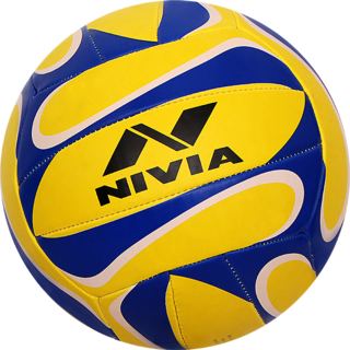 Nivia Trainer Volleyball - Size 4 (Pack of 1 Multicolor)