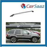 Carsaaz -Premium Quality Roof Rails For FORD FIGO  (set Of 2 Pcs) - Grey Color