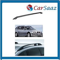 Carsaaz-Premium Quality Roof Rails For FORD  FIGO (set Of 2 Pcs) - Black Color