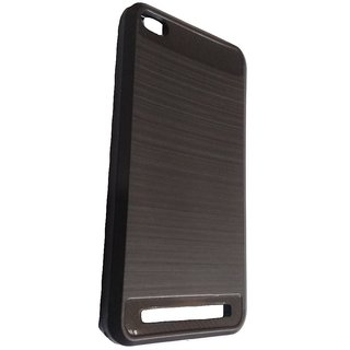 Redmi 5A (Black) Ultra Protection Rubberised Soft Back Case Cover