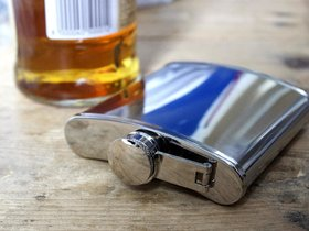 Hip Flask/whisky flask - Stainless Steel
