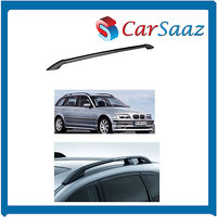 Carsaaz-Premium Quality Roof Rails For HYUNDAI  EON (set Of 2 Pcs) - Black Color