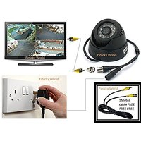All In One 15m IR Night Vision TF Card Slot DVR Indoor