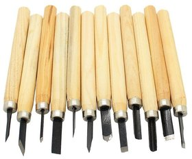 Wood Carving Chisels set - 12 Pcs