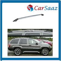 Premium Quality Roof Rails For FIAT LINEA (set Of 2 Pcs) - Grey Color