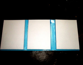 Note Book Foldable 300 Page Approx 5.5''( Medicine Advertisement) --3 Sets