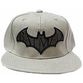 Friendskart Batman Hip Hop Style Cap In Beige Colour For Girls And Boys Cap