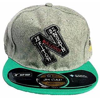 Friendskart Grey Hip Hop Cap For Mens And Boys Cap
