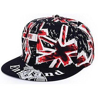 Friendskart England Print Snapback Cap, Hip Hop Cap, Baseball Cap For Unisex