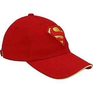 Friendskart Red Superman Cap