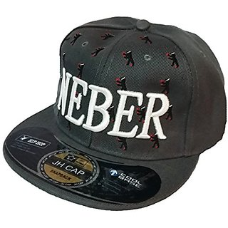 Friendskart NEBER Hip Hop Cap, Snapback Cap, Trucker Cap, For Mens Boys, Girls, Womens