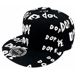 Friendskart Black Dope Hip Hop Cap
