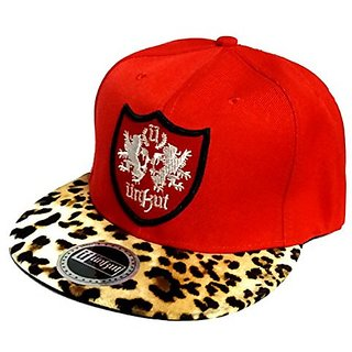 9640547226e Friendskart UNKUT Embroidered Hip Hop Cap Red Colour Cap For Boys And Girls  Cap