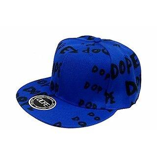 Friendskart Blue Dope Hip Hop Cap