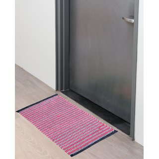 Fabzi cotton (40 x 60 cm) single multicolor doormat