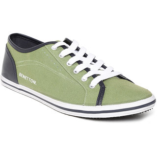 United Colors of Benetton Men Canvas Shoes-906