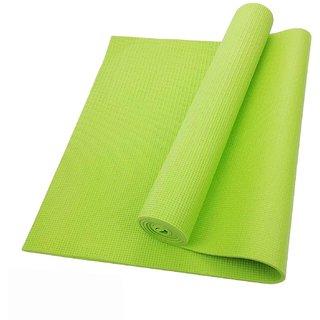 Yoga City Green Colour Yoga Mat 6MM