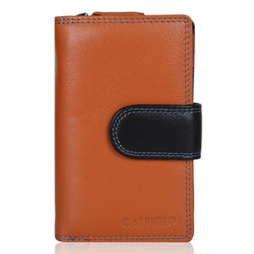 Calfnero Women Leather clutch wallet