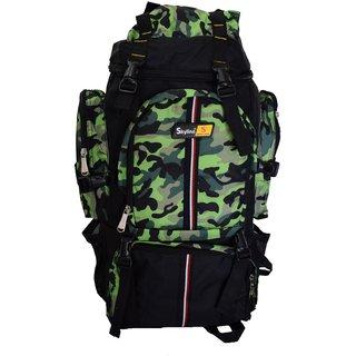 Skyline 25L Green Unisex Hiking/Trekking/Travelling/Camping Backpack Bag Rucksack Bag With Warranty-2407