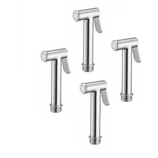 Kurvz Dove brass health faucet head chrome plated - pack of 4