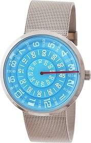 Paidu 58881Blue Watch - For Men  Women Watch  By Threes