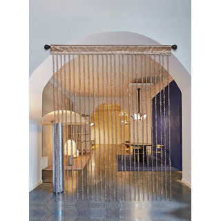 Ramcha Golden Spiral String Curtain