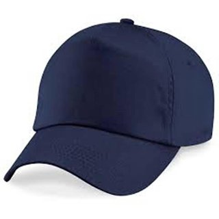 Babji Solid Stylish Solid Blue Plain Nylon Baseball Cap