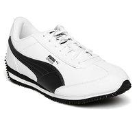 PUMA Men White Velocity Sneakers