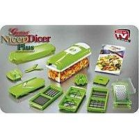 Super Chopper Plus Multi Vegetable Cutter Dicer - 6181516