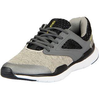 Columbus Men's Grey Lace-up Sports Shoes