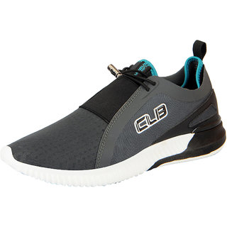 Black Lace-up Sports Shoes