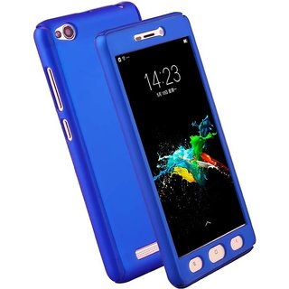 designer fashion d3453 ebfa4 Buy REDMI 5A BLUE Front And Back Cover /360 degree protection Online ...