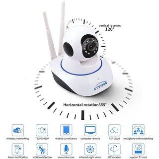 Dual antenna WiFi IP Smart On vif Camera Pan / Tilt / Zoom Technology 1080P 2MP P2P cctv camera system Security Wifi
