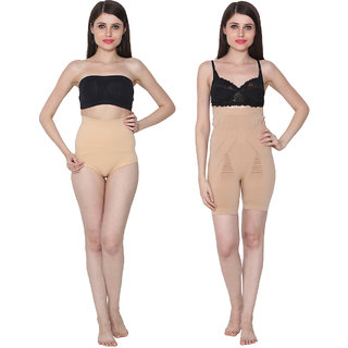 5087af674f Buy Ansh Fashion Wear Tummy   Body Shaper Pack Of 2 Online - Get 44% Off